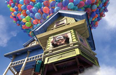 カールじいさんの空飛ぶ家 メインイメージ