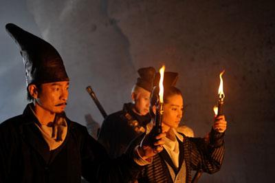 王朝の陰謀 判事ディーと人体発火怪奇事件 メインイメージ