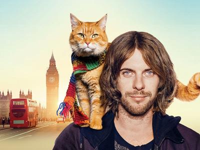 ボブという名の猫 幸せのハイタッチ メインイメージ